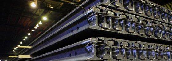 Рельсы узкоколейные Р18 старогодные износ до 1 мм