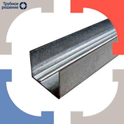 Профиль стальной замкнутый (труба) 09Г2С ГОСТ 30245-03 12м