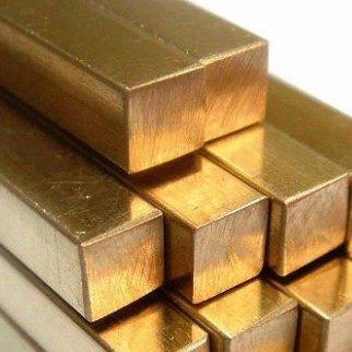 Квадрат бронзовый ГОСТ 1628-78 БрАЖМц 10-3-1,5, БрАЖ9-4, БрАМц9-2, БрАЖН10-4-4, БрКМц3-1,