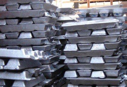 Слиток алюминиевый ВАЛ14 АТП