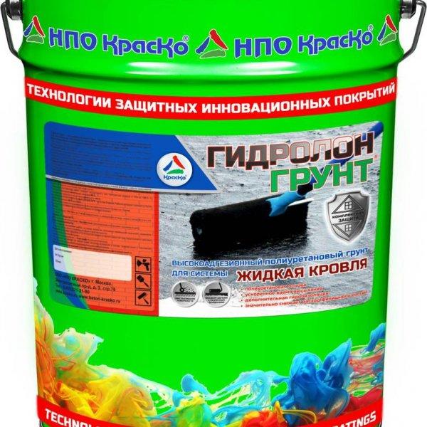 Гидролон-Грунт - кровельный гидроизоляционный грунт