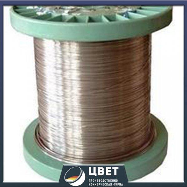 Проволока из сплавов с высоким электрическим сопротивлением Х27Ю5Т ГОСТ 12766.1-90