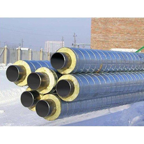 Труба ППУ-ОЦ стальная с изоляцией