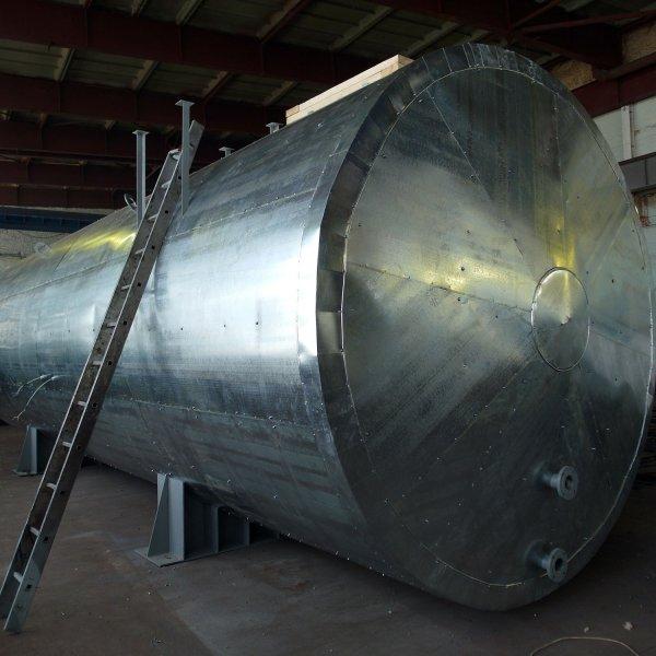 Резервуар горизонтальный стальной подземный РГСП-50