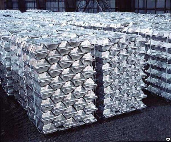 Чушка алюминиевая АВ87, ГОСТ 295-98