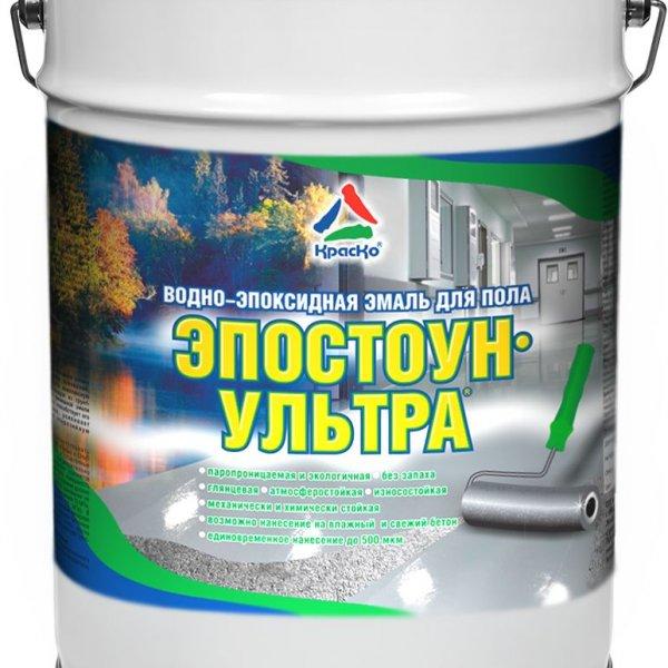 Эпостоун-Ультра - водно-эпоксидная эмаль для бетонного пола