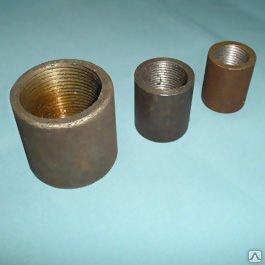 Муфта Муфта-заглушка стальная нержавеющая полиэтиленовая