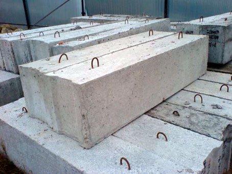 Фундаментный блок