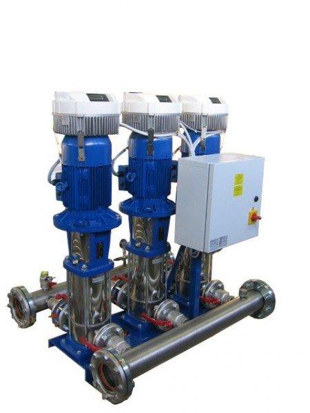 Автоматизированные установки повышения давления АУПД 2 MXHМ 205Е КР