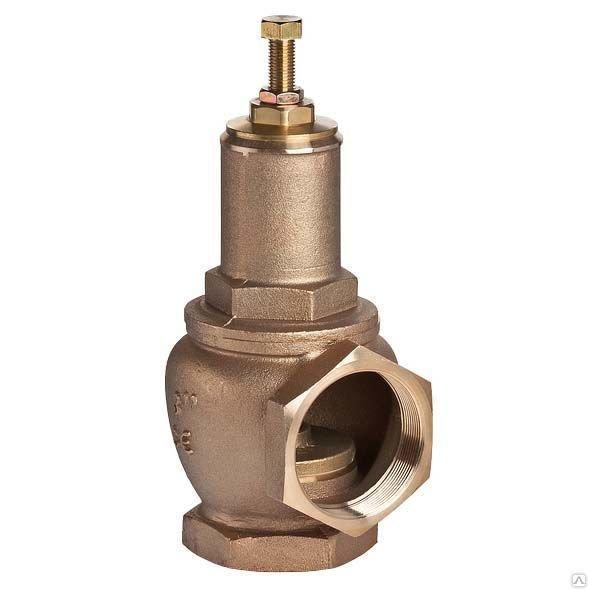Клапан предохранительный Муфтовый чугунный стальной нержавеющий