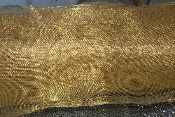 Сетка латунная 016 диаметр проволоки 0,1 мм ГОСТ 6613-86