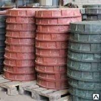 Люк канализационный чугунный тип Т (С250) ГОСТ 3634-99