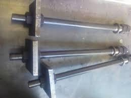 Болт фундаментный с анкерной плитой М12 ГОСТ 24379.1-80 тип 2