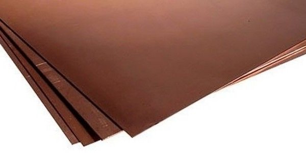 Лист бронзовый 20мм БрАЖ9-4