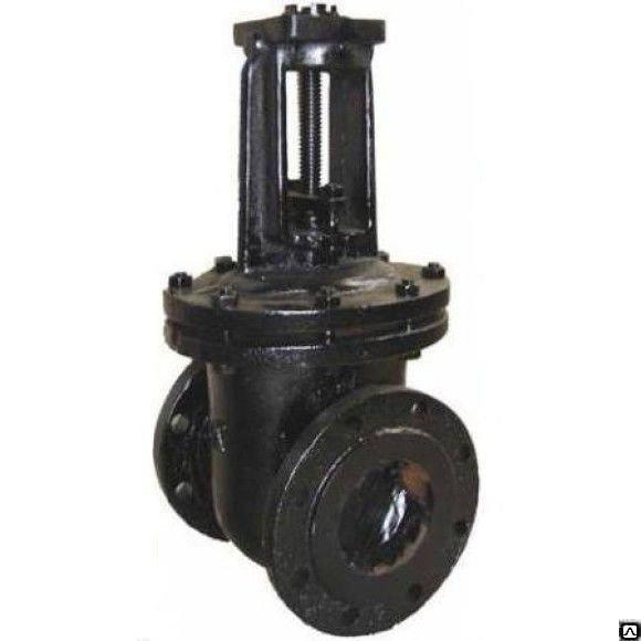 Задвижка чугунная МЗВГ 30ч39р Ду80 Ру16 150C Водоприбор