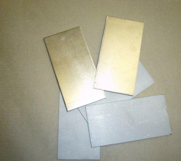 Лента-пластина уплотнительная Х18Н74В4-МП (УМБ8-М6Г) ТУ 14-1-3294-81 плакированная