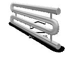Змеевиковый регистр 2-рядный