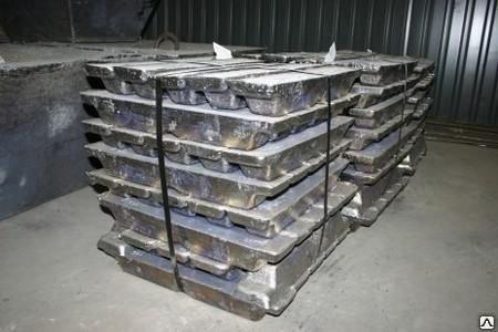 Свинцово-сурьмянистые сплавы ССу3 ГОСТ 3778-98