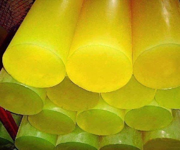 Полиуретан стержень (L~400 мм, ~ 2,3 кг, красный)