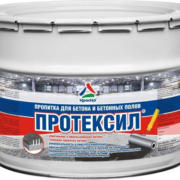 Протексил - пропитка упрочняющая для бетонных полов