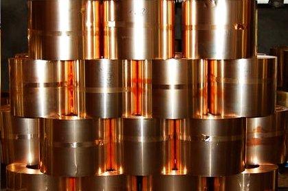 Лента бронзовая БрБ2 твердая (Бериллиевая бронза; CB2)