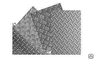 Лист рифленый чечевица 3сп ГОСТ 8568-77