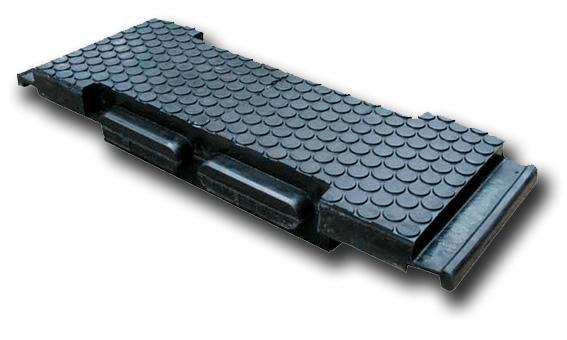 Резиновые плиты для ж/д переездов