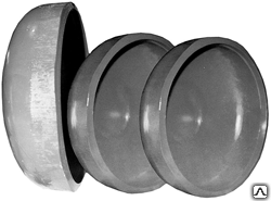 Заглушка для канализации сферическая (элептическая) днища ду 219 для труб