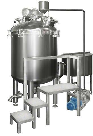 Изготовление реакторов для производства парфюмерии и косметики