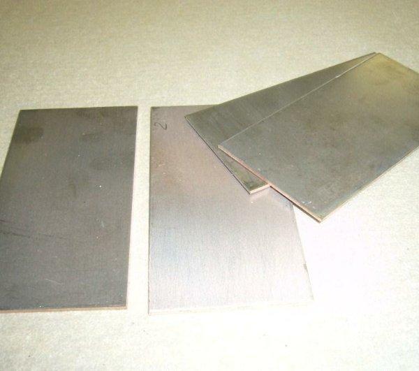 Пластины пористые титановые ТПП-5-МП ТУ 14-1-1895-76