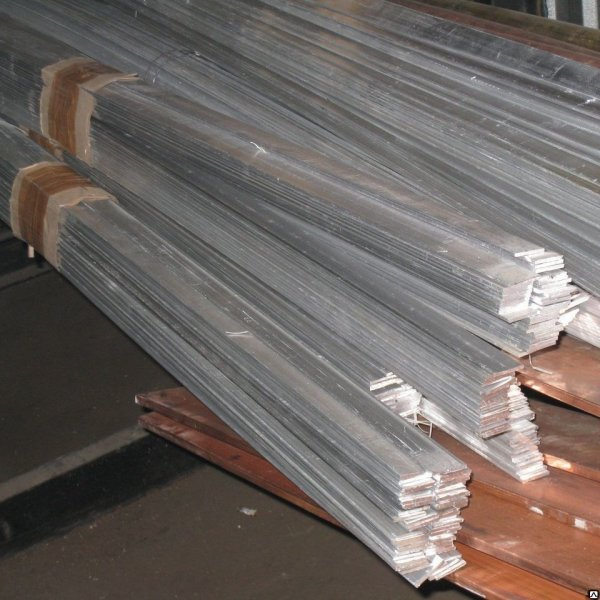 Шина алюминиевая 6*80 мм ГОСТ 15176-89