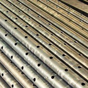 Трубы дренажные полиэтиленовые и ПВХ с фильтром и без