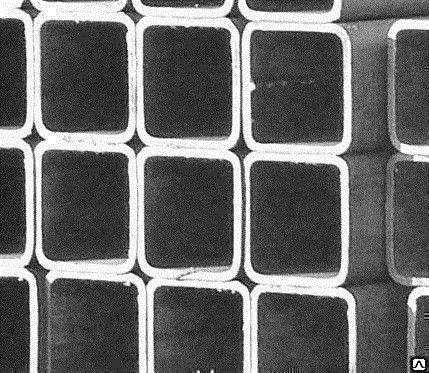 Труба квадратная AISI 201 зеркальная