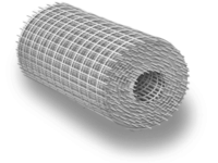 Сетка плетёная рабица оцинкованная ст3