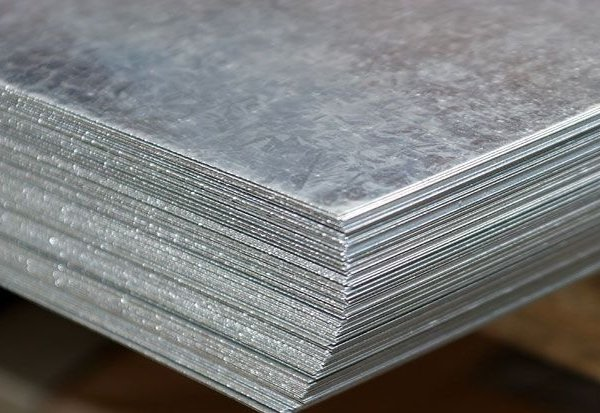 Лист цинковый 6х1000х2000мм Ц2 ГОСТ 598-90