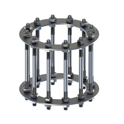 Фундаментный анкерный блок БФ-1 ГОСТ 24379.1-2012