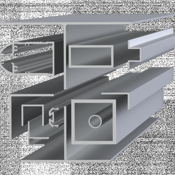 Профиль алюминиевый АД31 ПР 100-10