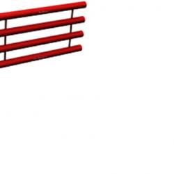 Регистры отопления четырехрядные РСП, дл. 6000мм