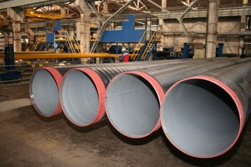 Труба стальная в изоляции на основе экструдированного полиэтиленая