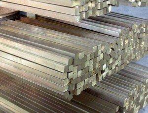 Квадрат стальной 55 Ст10 ГОСТ 2591-2006 4-6 м