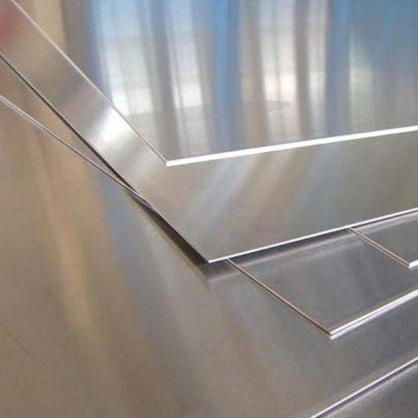 Лист алюминиевый АМц, А5, АД1, АМг5, АМг6, ВД1 по ГОСТу 21631-76