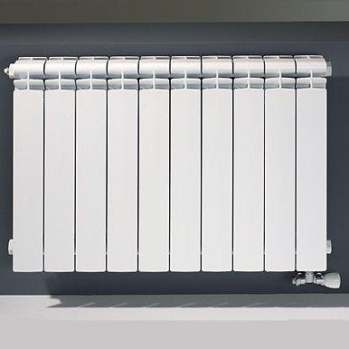 Дизайн-радиаторы чугунные, алюминиевые биметалические