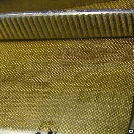 Сетка латунная ГОСТ 6613-86 полутомпаковая ячейка 09мм d=06мм