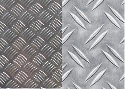 Лист рифленый алюминиевый декоративный