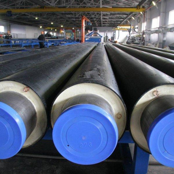 Труба ППУ-ПЭ стальная с изоляцией