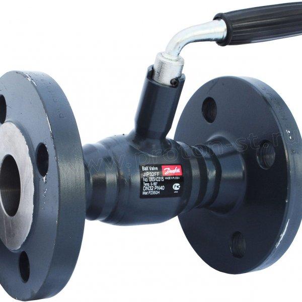Кран стальной шаровой Danfoss 065N9603 JIP Standart WW сварка/сварка с рукояткой, стандартный проход