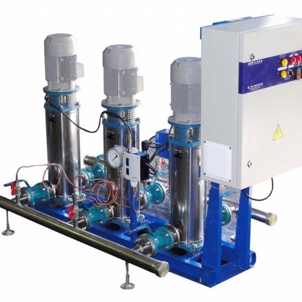 Автоматизированные установки повышения давления АУПД 3 1К100-65-250 чр