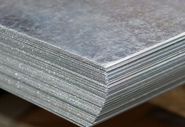 Лист цинковый 4х1000х1000мм Ц2 ГОСТ 598-90