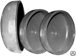 Заглушка для канализации сферическая (элептическая) днища ду 159 для труб