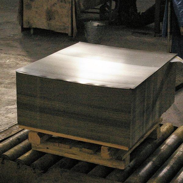 Жесть белая Рубка рулона в размер, группа покрытия